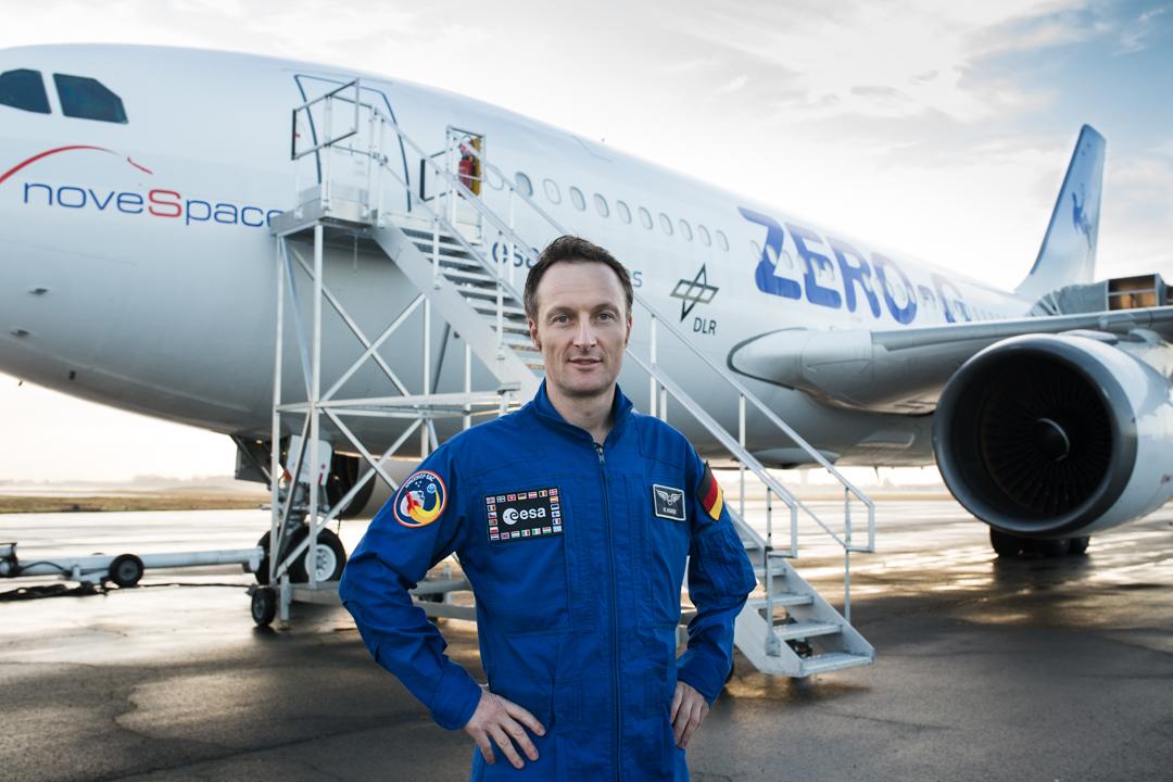 Matthias Maurer astronaute