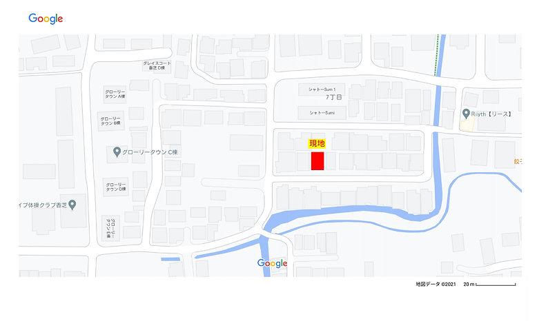北今市7詳細地図
