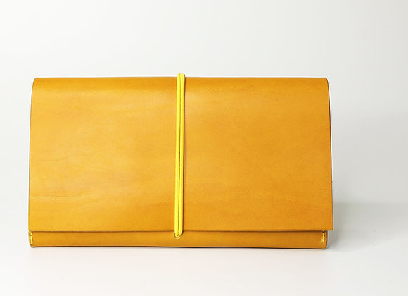 MAQUISARDE POUCH / Safran yellow