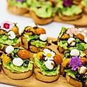 Mini-Avocado Toast Platter