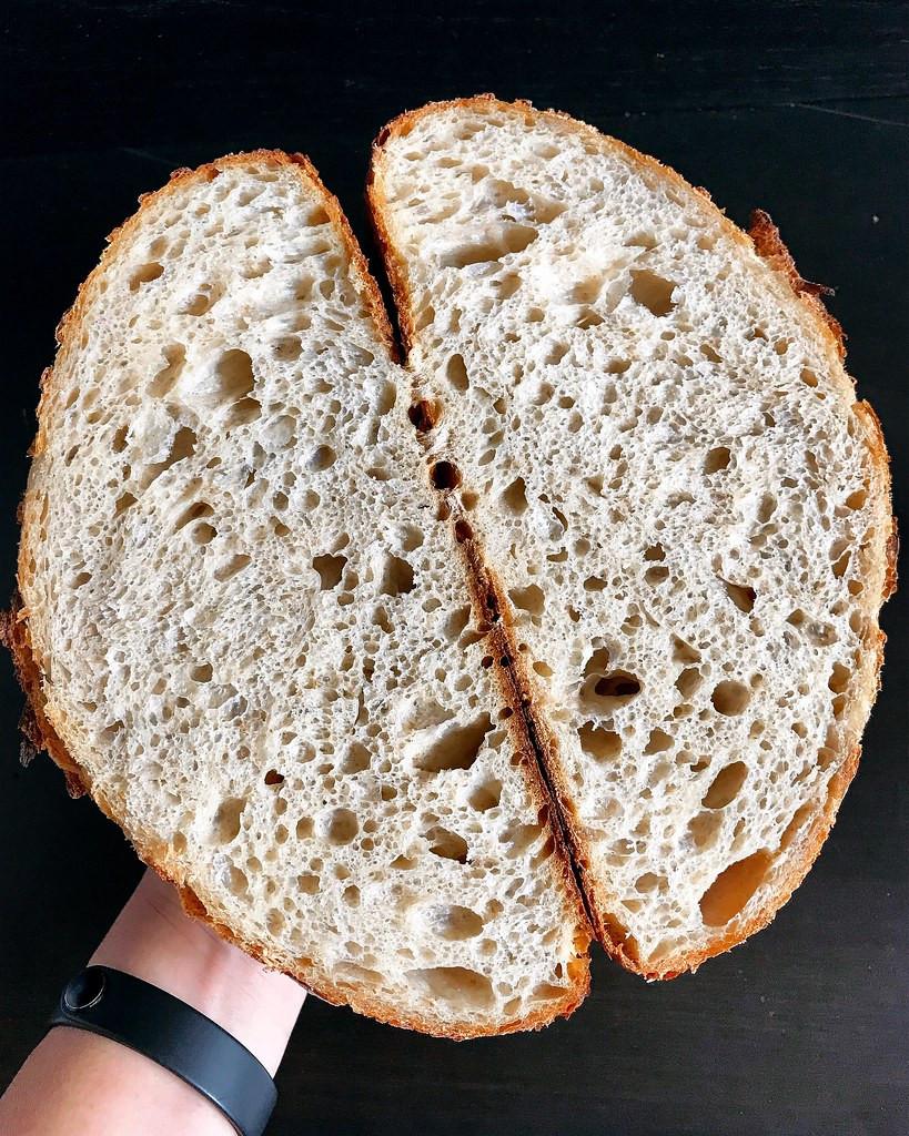 Sourdough Bread Toasty Avocado Toast San Francisco Brunch