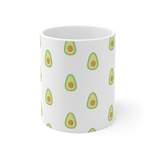 Avocado Pattern Mug