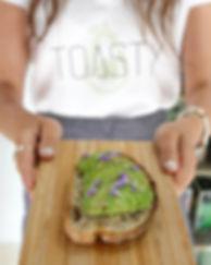 Avocado toast toasty san francisco brunch