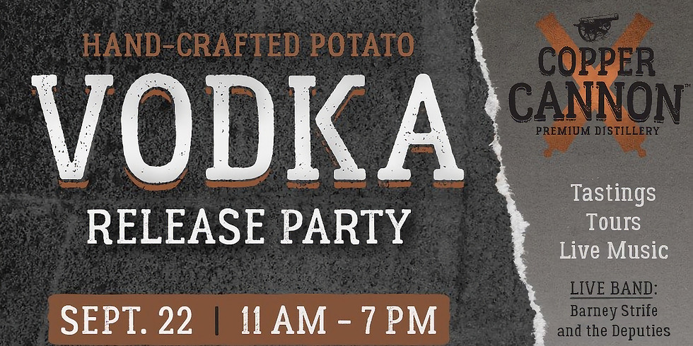Potato Vodka Release Party!