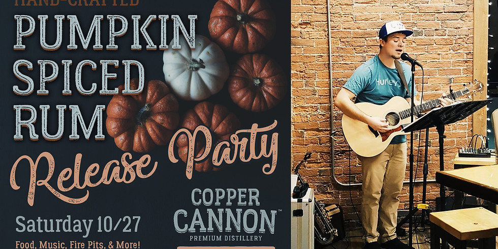 Pumpkin Spiced Rum Release Party!