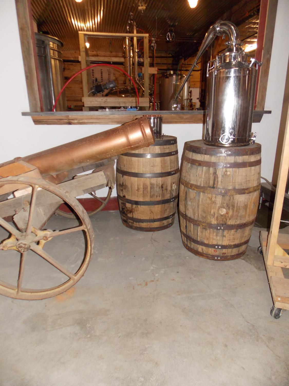 Copper cannon