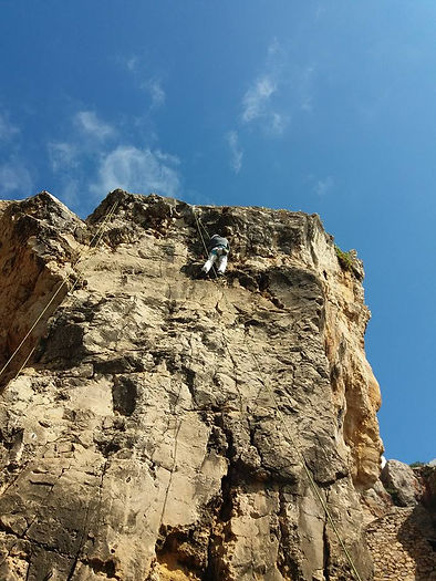 rock climbing with outdoor adventures portugal