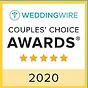 Weddingwire Couple Choice Award 2020 Award