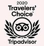 Trip Advisor 2020 travelers Choice award graphic