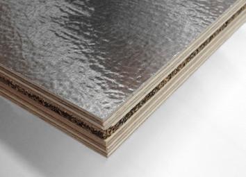 Foil-skin structural plywood