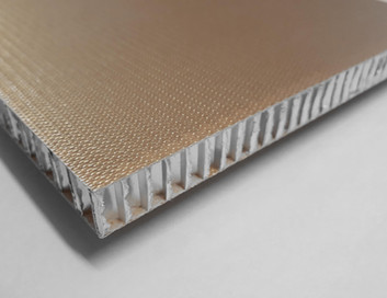 Phenolic FRP skin panel  with honeycomb core