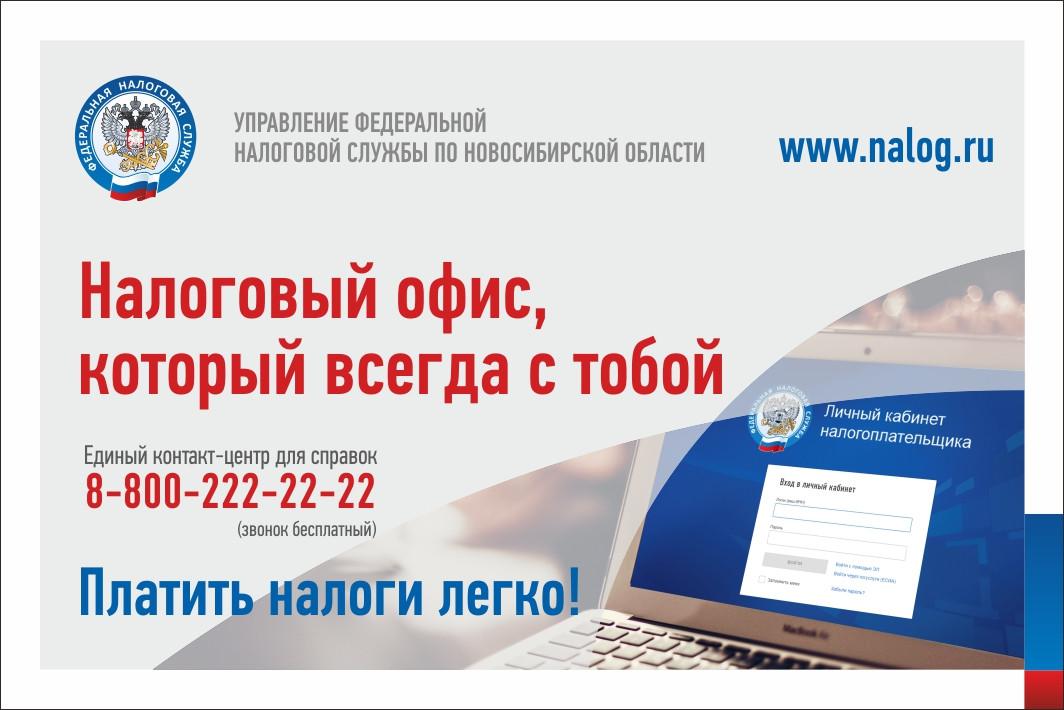 Более 45 тысяч новосибирских налогоплательщиков подключились к Личному кабинету с начала года