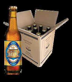 Birra bionda filtrata Wam Vismara cartone bottiglie 33cl