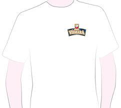 t-shirt omaggio Birra Vismara, logo, personalizzato, personalizzata, staff