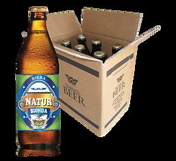 Birra Vismara Natur bionda non filtrata cruda birra artigianale italiana cartone box cassa 50cl