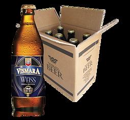 Birra Vismara bionda non filtrata bianca birra artigianale italiana cartone box cassa 50cl