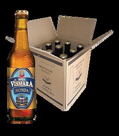 Birra bionda filtrata birra italiana artigianale cartone bottiglie 33cl