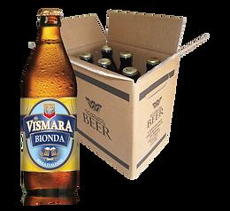 Birra bionda filtrata birra artigianale italiana cartone cassa box bottiglie 50cl