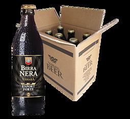 Birra Vismara nera doppio malto Export forte stout birra artigianale italiana cartone box cassa 50cl
