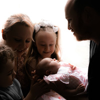Liverpool Newborn Photography with Siblings