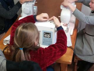 Ateliers couture enfants vacances Toussaint