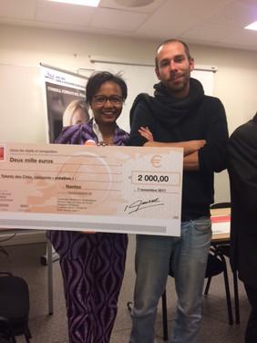 Lauréate Prix régional concours Talent Cité