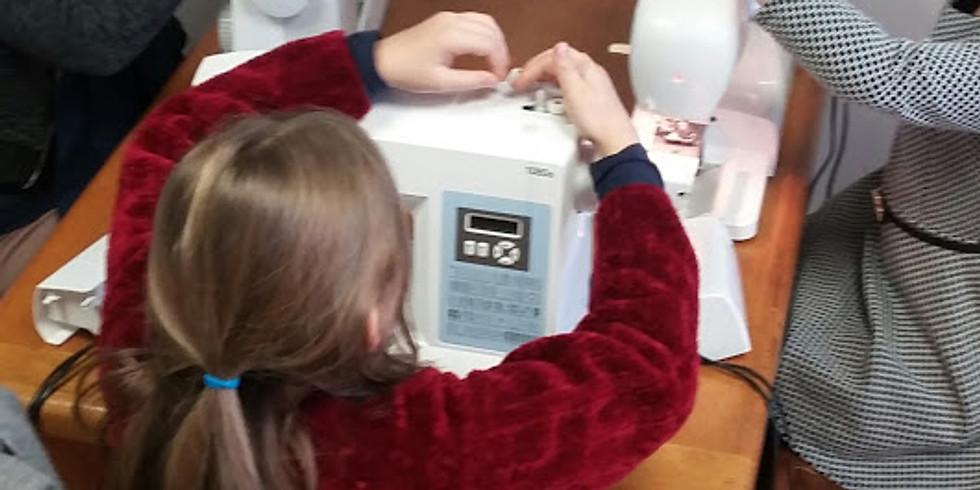 Atelier couture enfants - Stage Apprendre à utiliser une machine à coudre