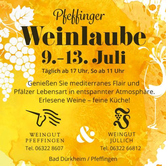 Pfeffinger Weinlaube 9.-13. Juli