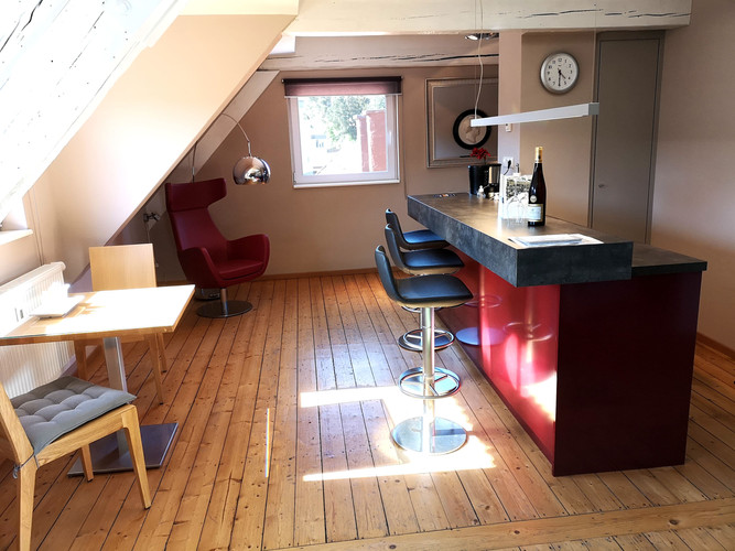Suite Wohnbereich / Küche