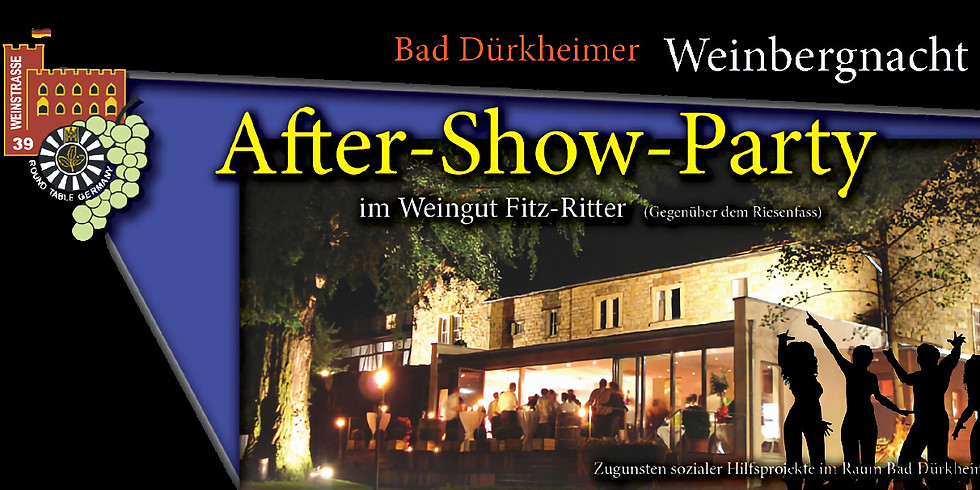 WEINBERGNACHT AFTER-SHOW-PARTY 2020