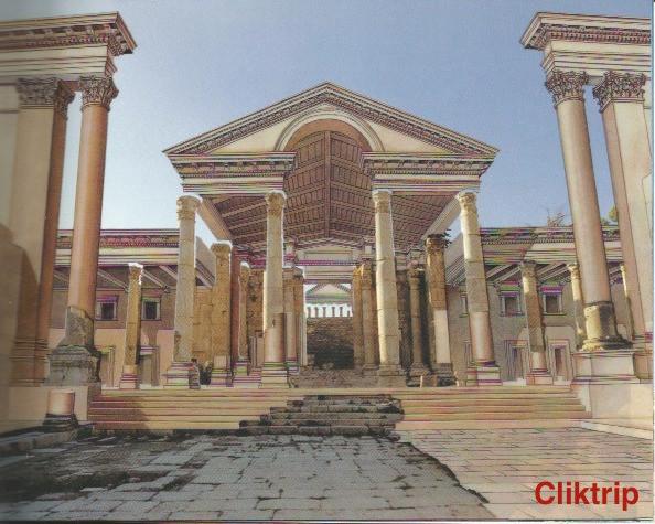 Templo de Artemis (como era )