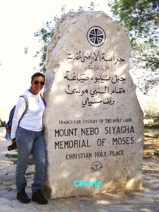 Memorial de Moyses - Monte Nebo