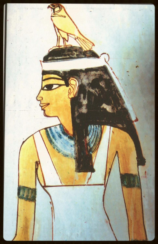 Tumba de Nefertari - cartão postal (foto de autor desconhecido)