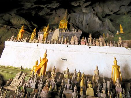 Pak Ou ou Cavernas dos Mil Budas em  Luang Pradang , Laos !