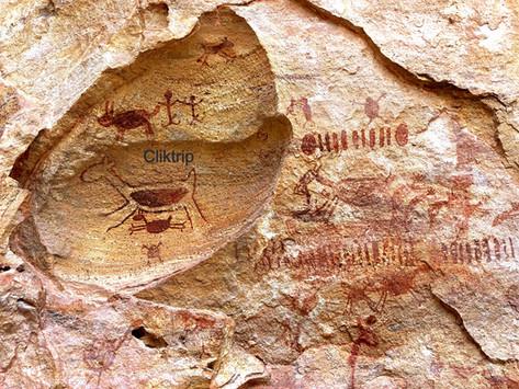 Serra da Capivara - O maior parque de pinturas rupestres do mundo !!