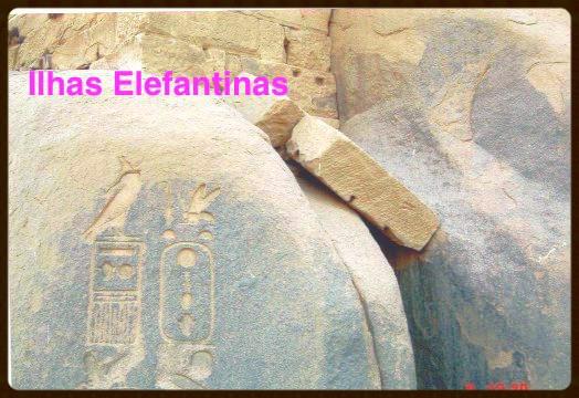 Cartucho com nome de um Faraó