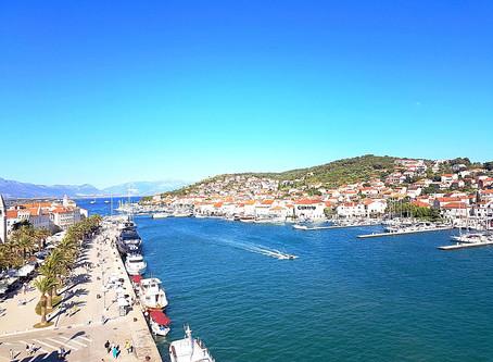 Trogir : a cidade medieval  mais antiga da Croácia