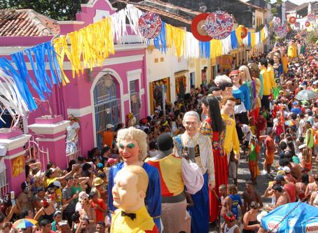 Olinda - tradição , cores , frevo e gastronomia