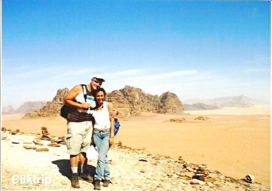 Wadi Rum - e as cores da areia