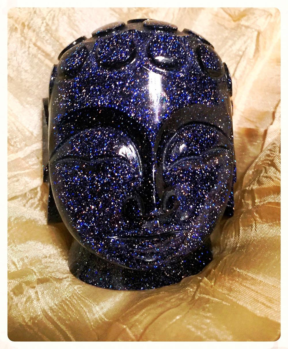 Buda em pedra da lua
