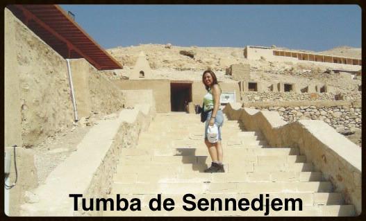 Tumba de um trabalhador da tumba do Ramsés II
