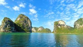 Halong Bay - cartão postal do Vietnã !