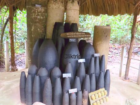 Túneis de Cu Chi - Túneis da Guerra do Vietnã