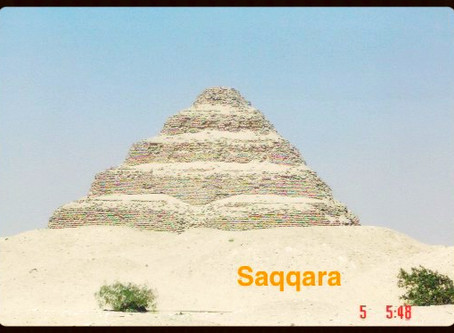 Saqqara - Pirâmide mais antiga