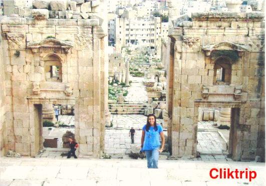 Templo de Artemis - Jerash - Jordânia