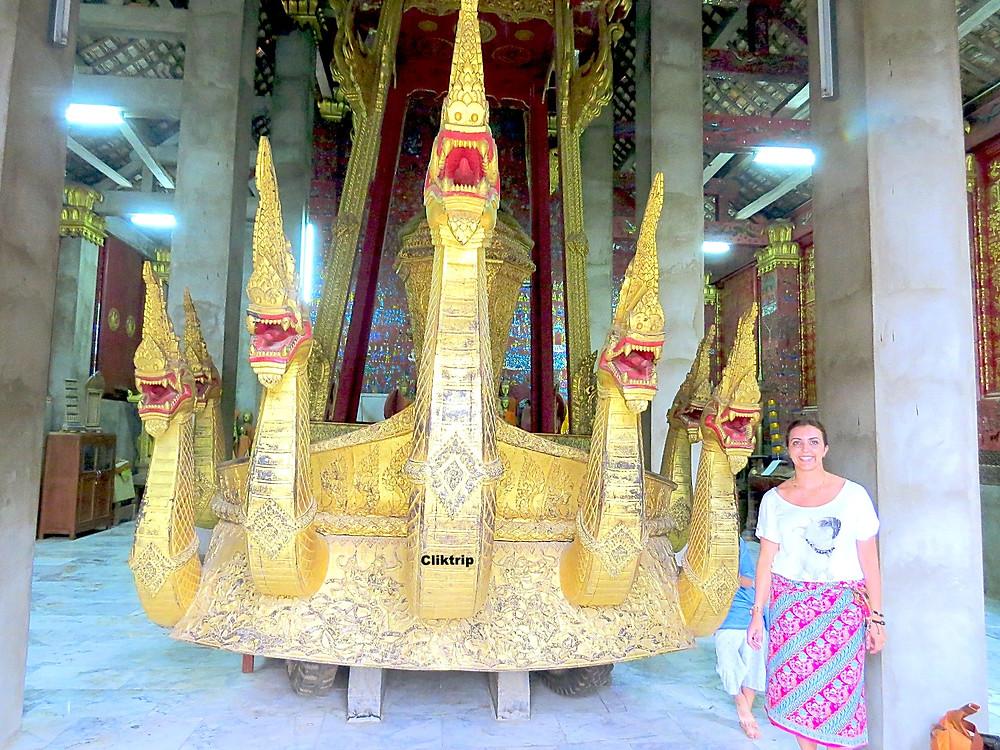 Carruagem real Laos
