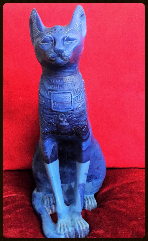 Gato de turquesa - Egito compras