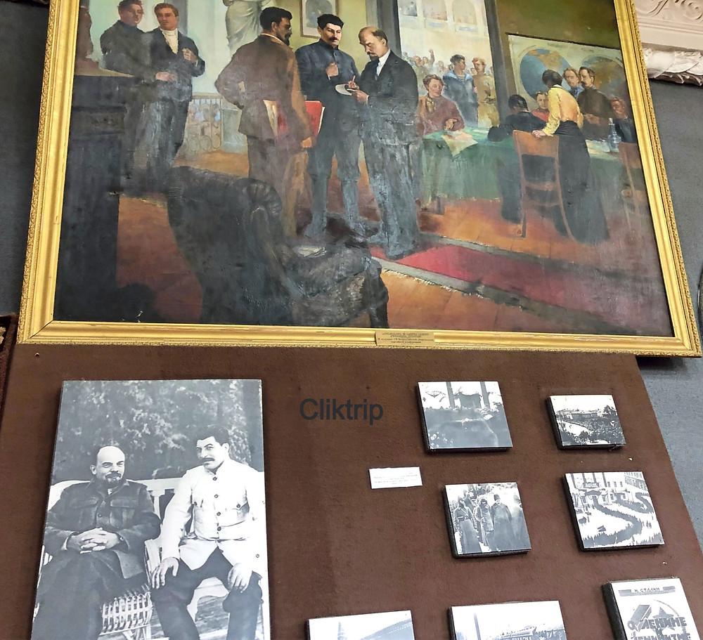 Museu Stalin em Gori , na Georgia .