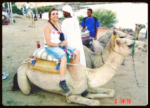 Dando uma voltinha de camelo