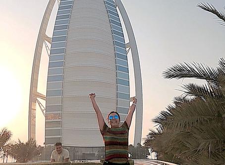 Dubai - Cidade Cosmopolita  , Sofisticada , Luxuosa ,  Superlativa , e Multirracial